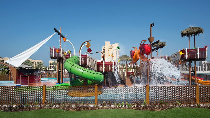 Doubletree by Hilton Resort & Spa Marjan Island, Children's Wetzone