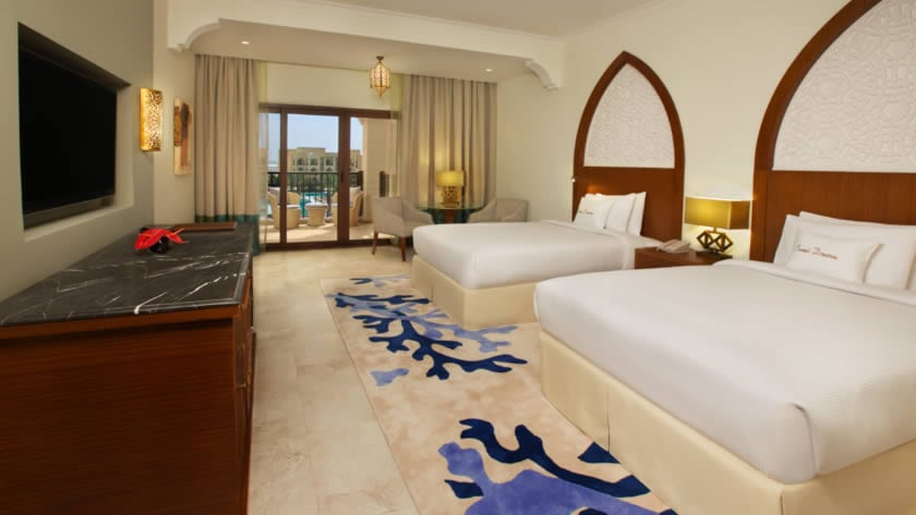 Doubletree by Hilton Resort & Spa Marjan Island, Guest Room Pool View