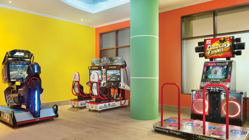 Doubletree by Hilton Resort & Spa Marjan Island, Kids Club Arcade Zone