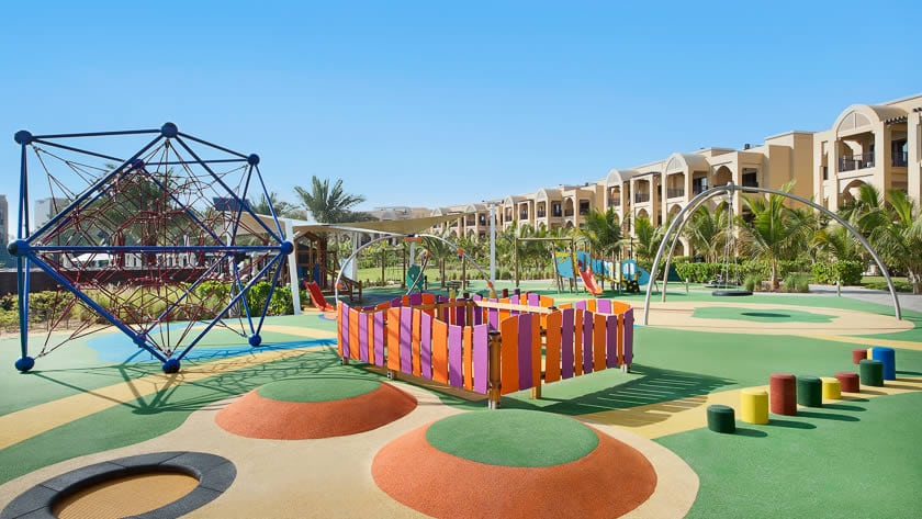 Doubletree by Hilton Resort & Spa Marjan Island, Kids Club Outdoor Play Area