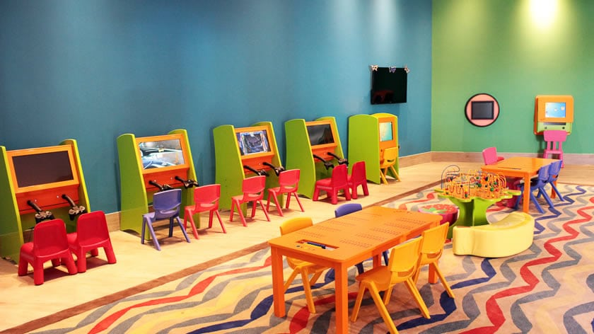 Doubletree by Hilton Resort & Spa Marjan Island, Kids Club Playstations