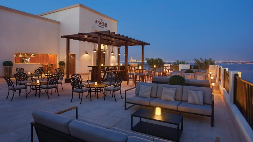 Doubletree by Hilton Resort & Spa Marjan Island, The Anchor Terrace