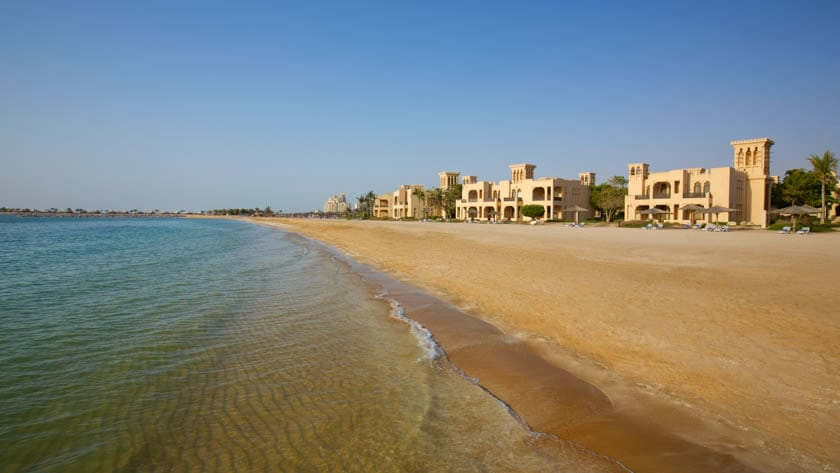 Hilton Al Hamra Beach & Golf Resort, Deluxe Room at Seafront Exterior