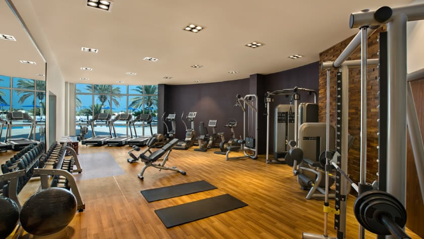 Hilton Al Hamra Beach & Golf Resort, Gym