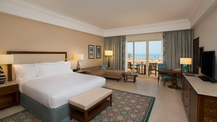 Hilton Al Hamra Beach & Golf Resort, Superior Seaview Room