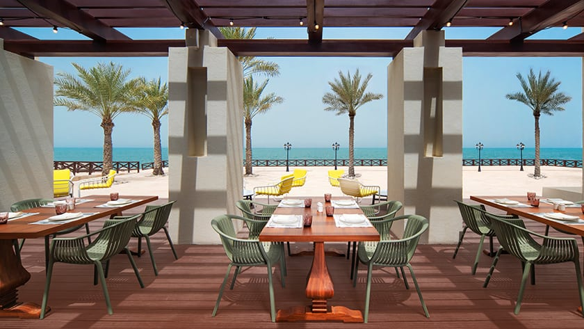 Hilton Ras Al Khaimah Resort Al Maeda Outdoor Terrace