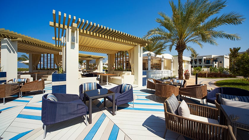 Hilton Ras Al Khaimah Resort Sol Beach Lounge & Bar