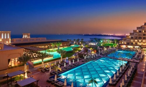 Rixos Bab Al Bahr at Night