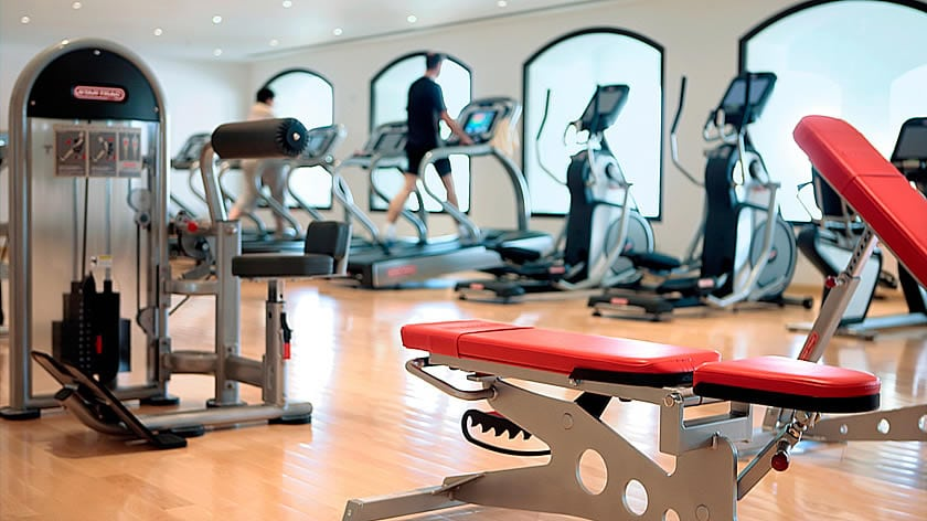 The Cove Rotana Resort, Gym