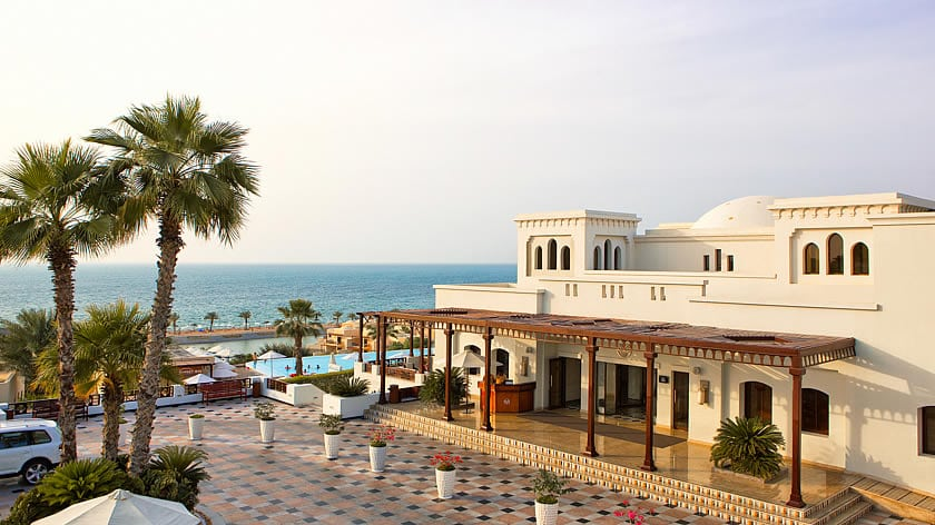 The Cove Rotana Resort, Hotel Entrance