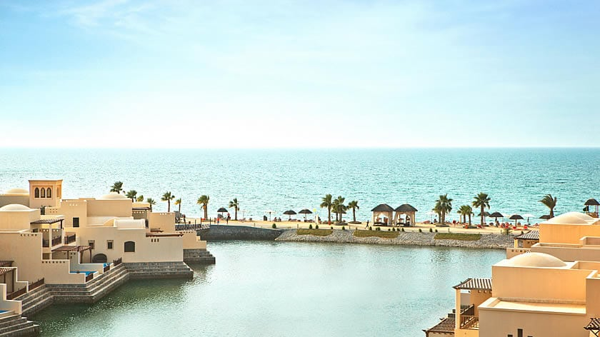 The Cove Rotana Resort, Villa and Beach View