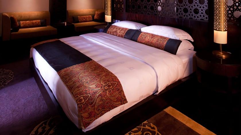 The Ritz Carlton Ras Al Khaimah, Al Wadi Desert, Al Rimal Enclosed Pool Villa Bedroom