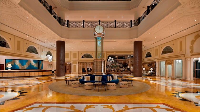 Waldorf Astoria Ras Al Khaimah, Hotel Lobby