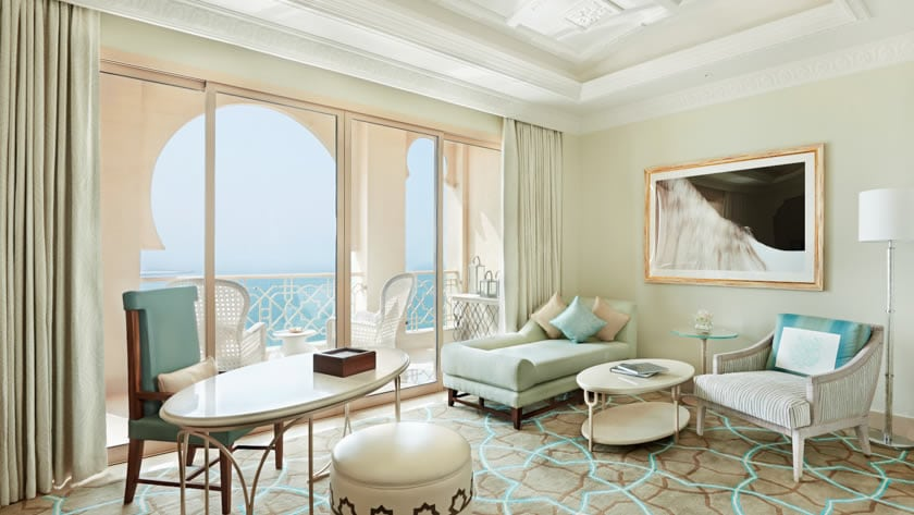 Waldorf Astoria Ras Al Khaimah, Junior Suite Living Area