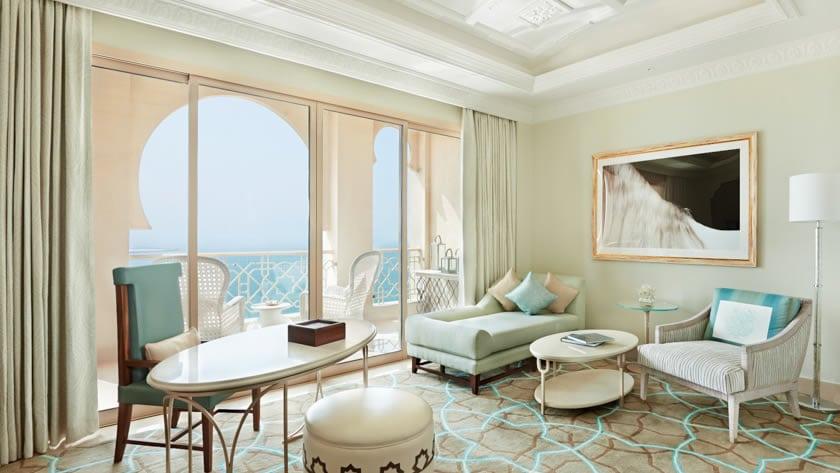 Waldorf Astoria Ras Al Khaimah, Junior Suite Living Area