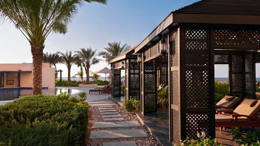 Waldorf Astoria Ras Al Khaimah, Poolside Cabana