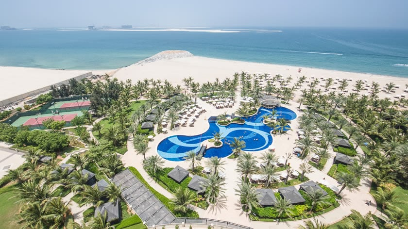 Waldorf Astoria Ras Al Khaimah, Resort View