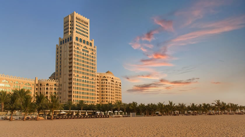 Waldorf Astoria Ras Al Khaimah Sunset
