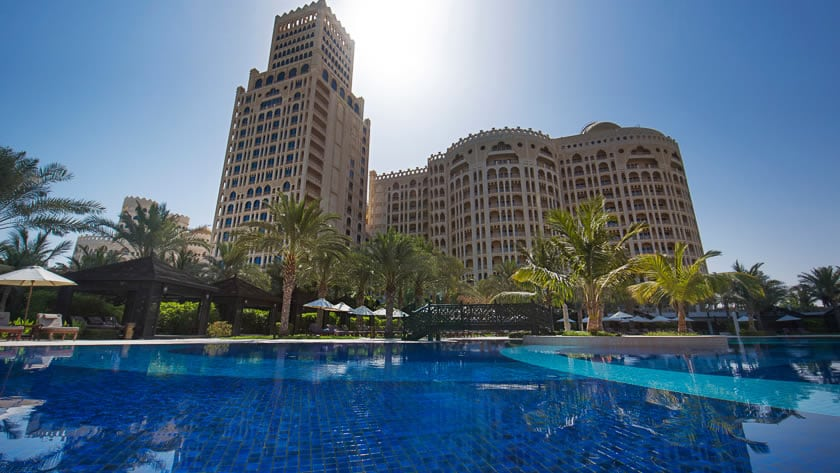 Waldorf Astoria Ras Al Khaimah, View from the Pool