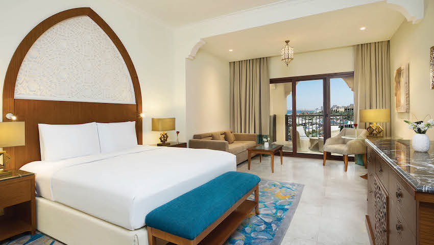 Doubletree by Hilton Resort & Spa Marjan King Deluxe Room with Balcony