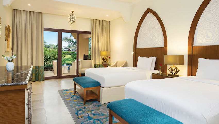 Doubletree by Hilton Resort & Spa Marjan Twin Deluxe Room Terrace
