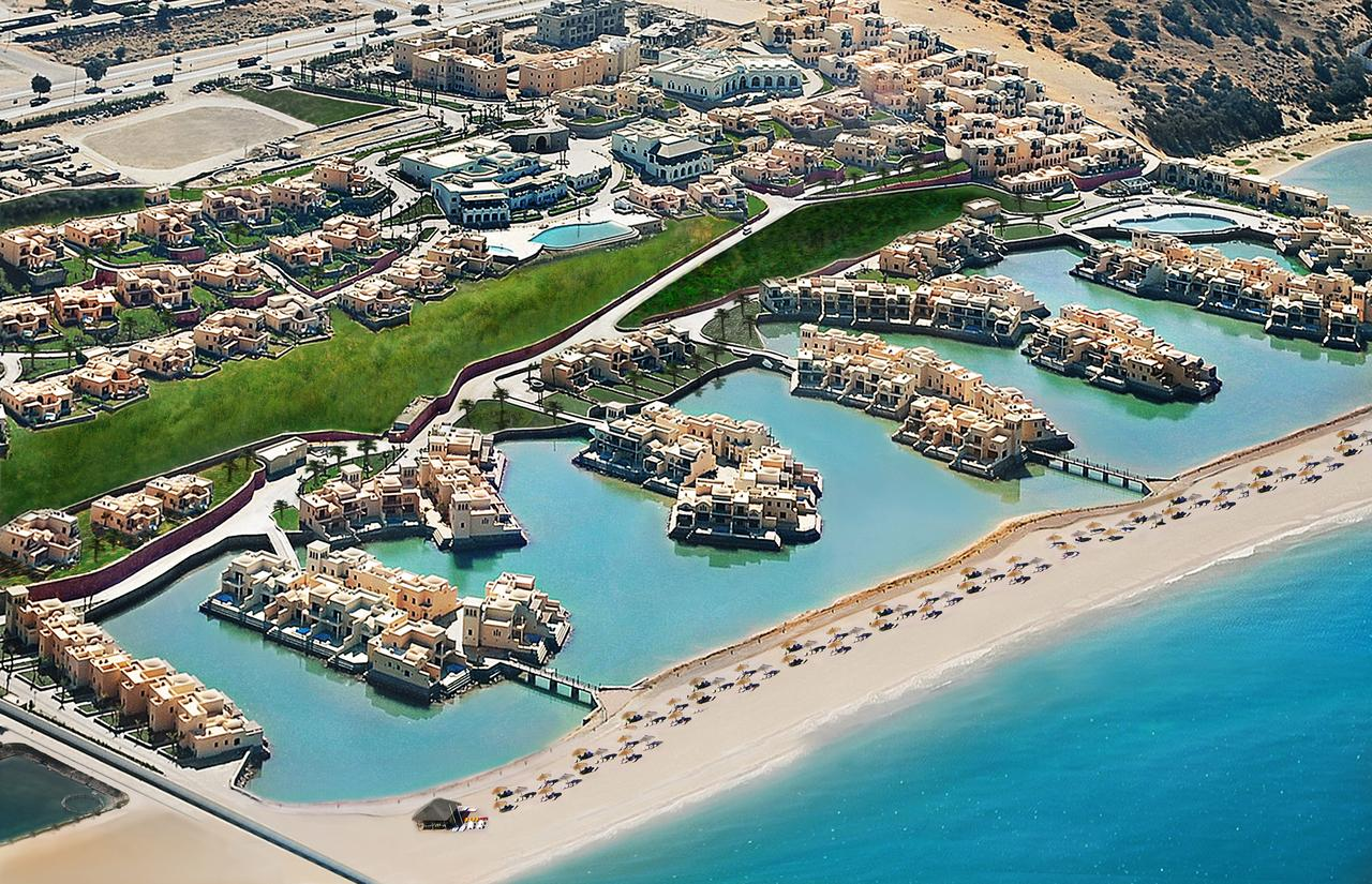 The Cove Rotana Resort Aerial